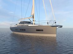 The french yacht builder AMEL from La Rochelle presents their newest Blue Water Sailing Yacht: The AMEL 50. Also, check out the virtual reality tour.