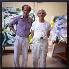 """""""I don't paint to live, I live to paint""""- Willem de Kooning."""