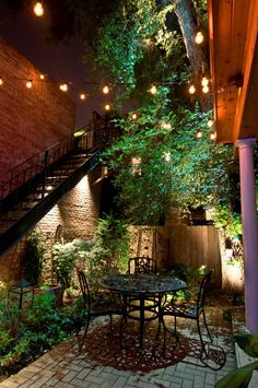 Outdoor lighting doesnt have to look cheap and frilly. When done right hanging some decorative lighting in your backyard can add a fun style. Chicago Landscape Lighting by Outdoor Accents - Outdoor Lighting - Ideas of Outdoor Lighting Patio Lighting, Landscape Lighting, Lighting Ideas, Lighting Design, Accent Lighting, Dramatic Lighting, Pathway Lighting, Interior Lighting, Outdoor Rooms