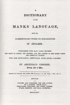 Fockleyr ny Gaelgey: Manx-English: Dictionary of the Manx Language Manx Language, Isle Of Man, English, Amazon, Words, Amazons, Riding Habit, Manx, English Language