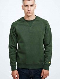 Carhartt Chase Sweatshirt In Green