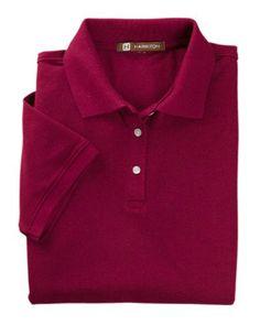 b6277cf355b Easy Blend Polo - WINE - XL M265W-simple. Custom PolosT Shirts ...