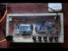 Microcassette Tape Delay: This is a guide for those wanting to build a cheap, fun and different 'lo fi' tape delay from microcassette tape dictaphones. Originally I've posted a guide for the build on my site/blog (www.dogenigt.com) but the project has gained a lot of popul... Guitar Effects Pedals, Guitar Pedals, Diy Electronics, Electronics Projects, Voodoo, Diy Guitar Pedal, Tape Echo, Homemade Instruments, Experimental Music