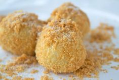 The classic gnocchi with semolina are a classic dessert in the grandmother's kitchen. Informations About Topfenknödel mit Grieß – Rezept Pin You can easily use … Healthy Dessert Recipes, Rice Recipes, Semolina Recipe, Easy Cooking, Cooking Recipes, Kids Meals, Easy Meals, Ricotta Gnocchi, Milk Dessert