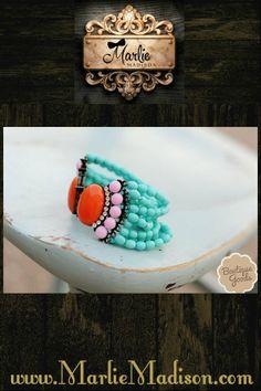 Beautiful Beaded Bracelets! http://www.marliemadison.com/accessories/jewelry/ashley-s-favorite-beaded-bracelets