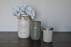 Sage & Ivory Mason Jar Set Mason Jar by HendersonHouseCreate