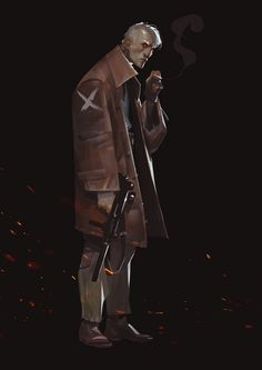ArtStation - Galaxy's Most Wanted - Lehmann, Oliver Odmark Character Concept, Character Art, Concept Art, Character Ideas, Cyberpunk Character, Cyberpunk Art, Face Characters, Star Wars Characters, Fictional Characters