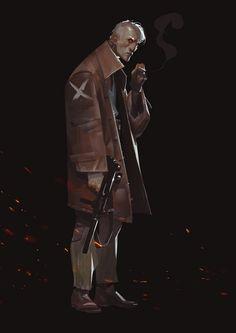 Galaxy's Most Wanted - Lehmann, Oliver Odmark on ArtStation at https://www.artstation.com/artwork/5R0q1