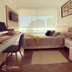 Homeoffice+Dormitorio de huespedes+ espacio para almacenamiento Home Decor, Furniture, Decor, Bed