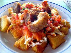 Este suculento platillo hondureño se puede acompañar con una rica horchata.