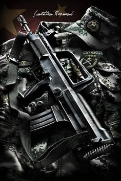 QBZ-97 5.56mm Assault Rifle in a bullpup configuration (used by China's armed forces)
