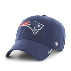 25bf61f717a New England Patriots Miata Clean Up Light Navy 47 Brand Womens Hat