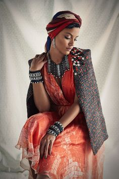 Queen Selita - The Glamourai ~Latest African Fashion, African Prints, African fashion styles, African clothing, Nigerian style, Ghanaian fashion, African women dresses, African Bags, African shoes, Nigerian fashion, Ankara, Kitenge, Aso okè, Kenté, brocade ~DK