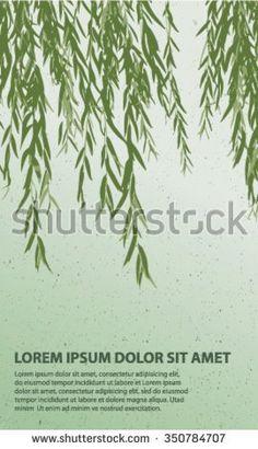 Bildresultat för willow tree vector