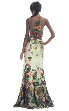 Barbara Bela Mermaid Shape Dress.