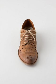 Anthropologie  Cutout Daisy Oxfords