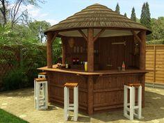 bar de jardin de type pavillon