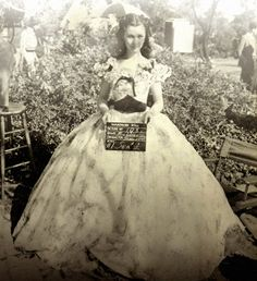 The original dress for the opening scene of the Gone With the Wind