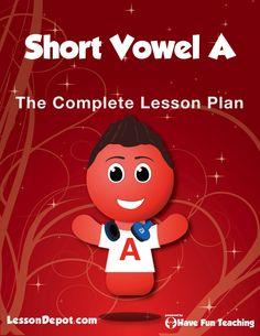 Short Vowel A Lesson Plan