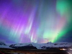 One of nature's most spectacular displays, the Northern Lights are formed from electrically charged particles from the sun that combine with different gases to produce a multicolored light show. They typically occur from September to early April in destinations like Canada, Alaska, Iceland, and northern Scandinavia.
