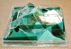 Dana Worley, Fused Glass Designs: One man\'s trash...