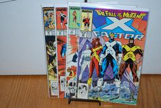 4  X Factor comics from 1980s by HobbyHaven on Etsy, $3.25