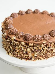 THE BEST Ferrero Rocher Cake Recipe out there, you have to see all those reviews in comments.