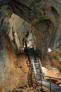 """poarta Lui Ionele"" Cave In Apuseni Mountains – Romania Blue Cave Croatia, Glow Worm Cave, Fingal's Cave, Jenolan Caves, Batu Caves, Places Worth Visiting, Kangaroo Island, Beautiful Roads, Winding Road"