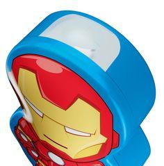 Zaklamp Avengers - multicolor - 1x 0,3w - kunststof - Philips