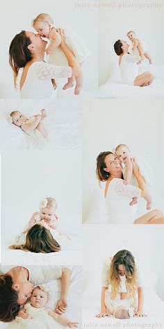 {6months} I Mommy and Me » Julie Newell Photography