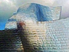 Blue Curves / Guggenheim Bilbao / Frank Gehry