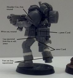 Conversion, Space Marines, Tall Scale, True Scale, Tutorial