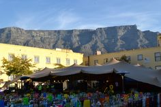 A beautiful view of Table Mountain from the Cape Town Castle. Venturescapes.co.za