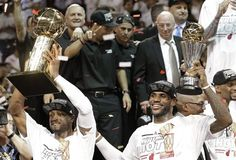 "Mr. ""Never Say Never"" D. Wade and ""King James"" LeBron J."