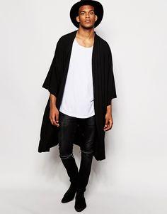 ASOS - Kimono coupe longue