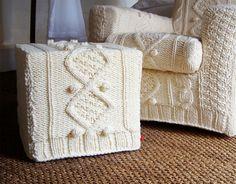 capas em tricot passo a passo - Pesquisa Google