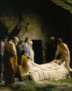 Entombment of Christ, by Carl Heinrich Bloch