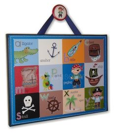 Pirate art for toddlers