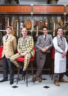 Staff uniforms - Holborn Dining Rooms