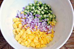 mango-cucumber salsa recipe