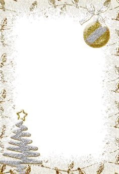 Sparkling Silver Transparent Christmas Photo Frame