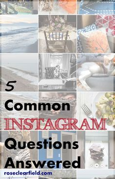 5 Common Instagram Q