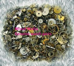 Genuine Clean Handpicked Watch Parts for Steampunk  by ALYNDRAEL, $19.50