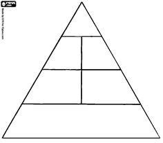 Manualidades con mis hijas: Pirámide alimenticia Healthy Balanced Diet, Healthy Habits, Classroom Rules, Classroom Activities, Food Pyramid, Small Groups, Kindergarten, Preschool, Learning