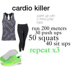 Cardio Killer Workout