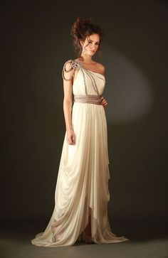 An Elegant Greek Goddess Costume