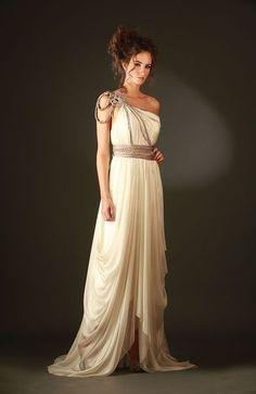 An Elegant Greek Goddess Costume