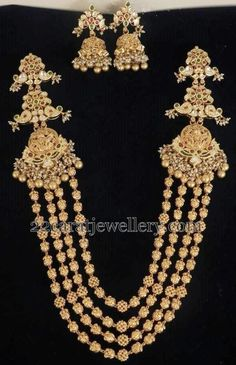 Jewellery Designs: antique long chain