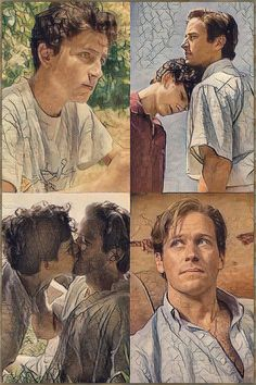 Call Me By Your Name Armie Hammer And Timothee Chalamet