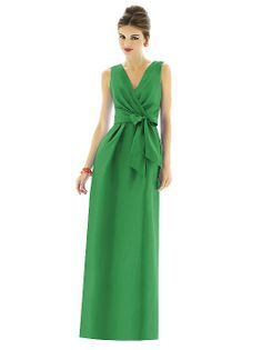 Alfred Sung Style D596 http://www.dessy.com/dresses/bridesmaid/d596/?color=pistachio&colorid=396#.UuhUmvYo4y4